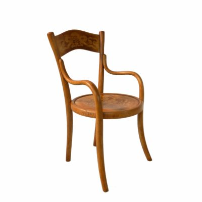 French bentwood children's chair by BAUMANN circa 1914
