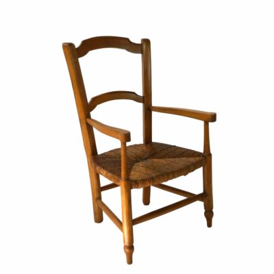 French children's armchair circa 1900