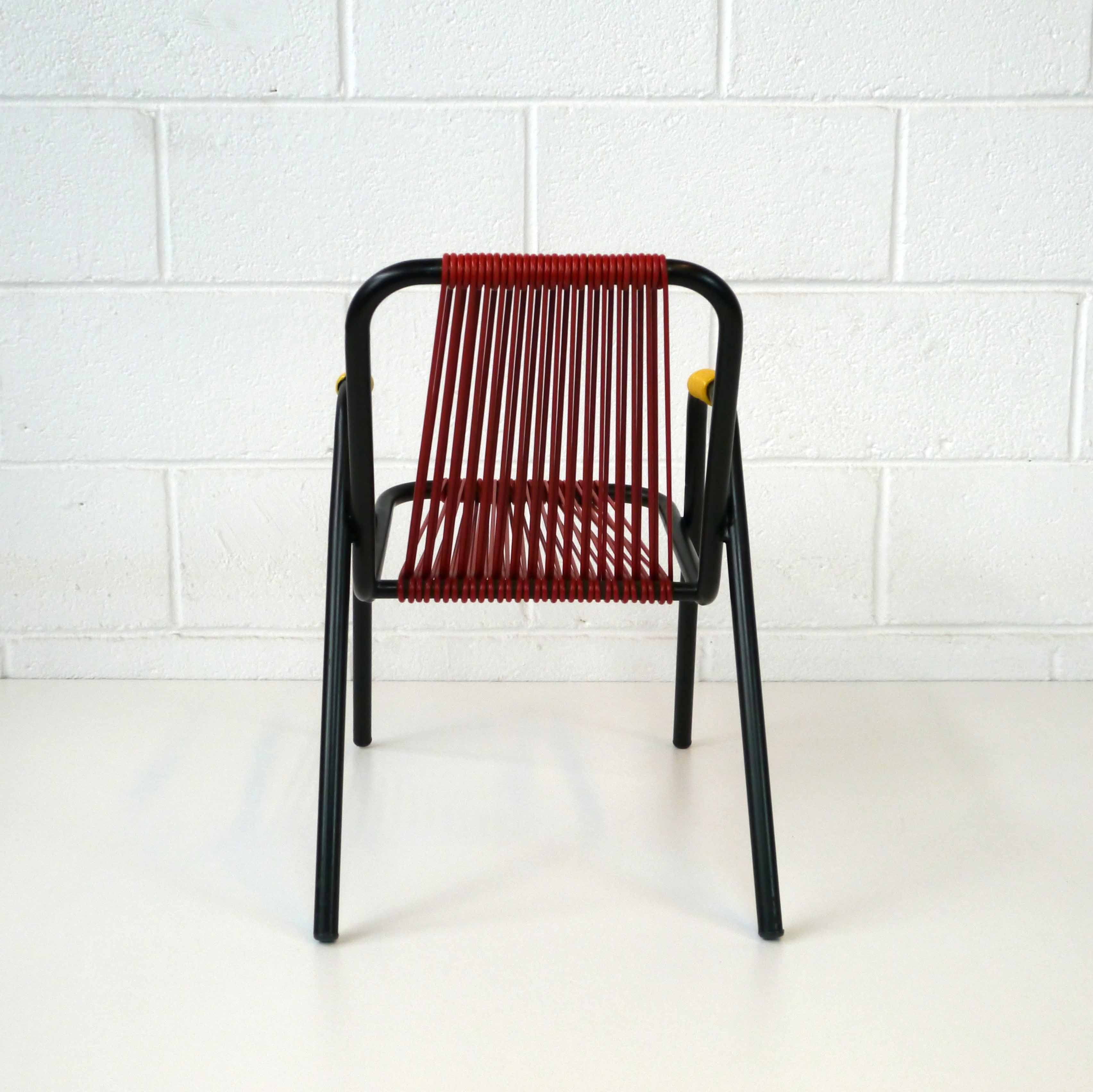 fauteuil scoubidou la marelle mobilier et d co vintage. Black Bedroom Furniture Sets. Home Design Ideas
