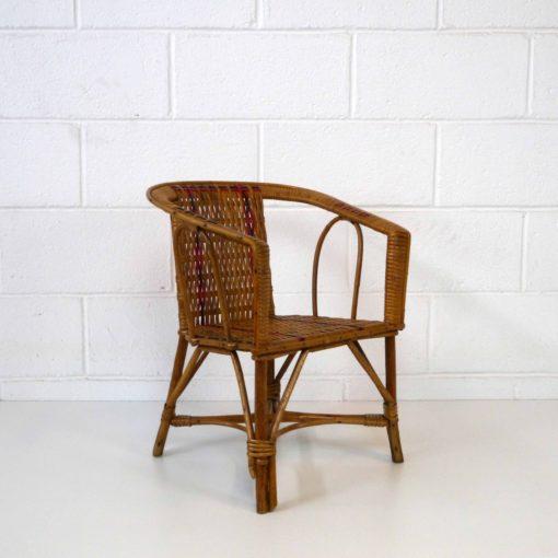 Wicker children armchair (2)