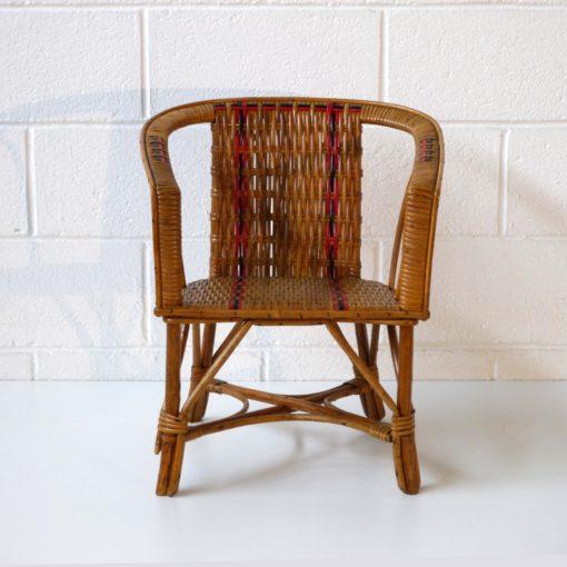 Wicker children armchair (3)