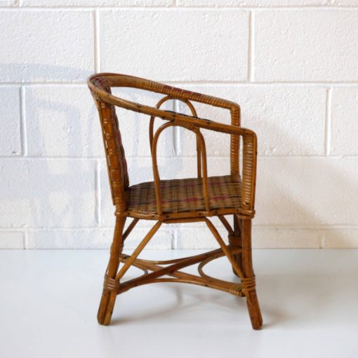 Wicker children armchair (4)