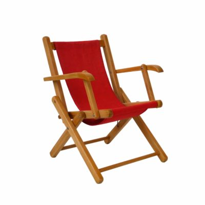 Red Vintage children chair