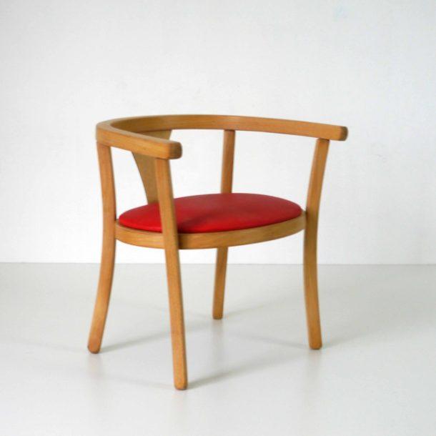 Baumann Fauteuil Rouge (2)