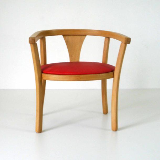 Baumann Fauteuil Rouge (3)