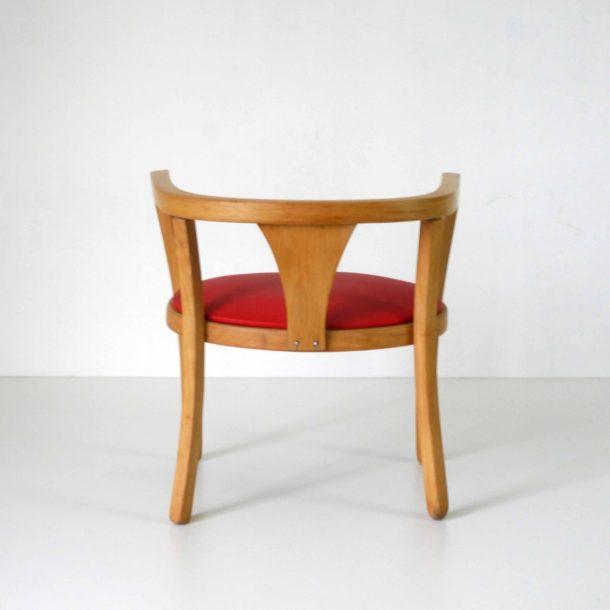 Baumann Fauteuil Rouge (5)
