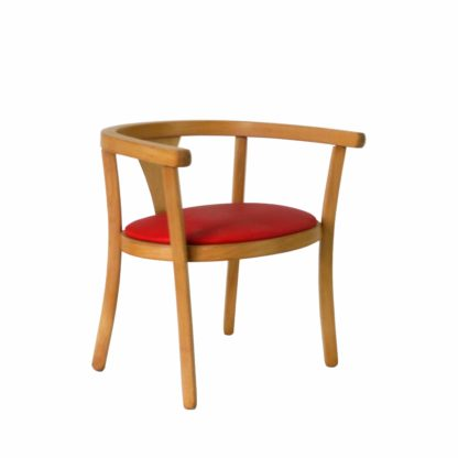 Baumann Red chair