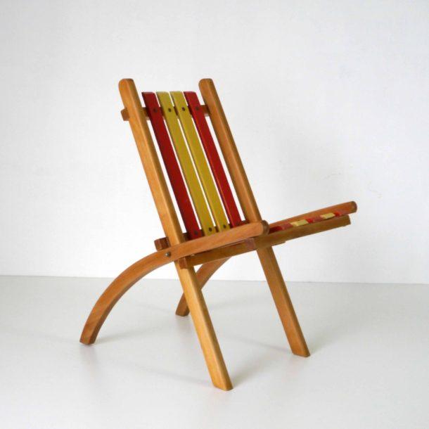 Chaise Pliante Enfant 1950 (2)