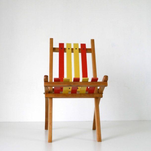 Chaise Pliante Enfant 1950 (4)