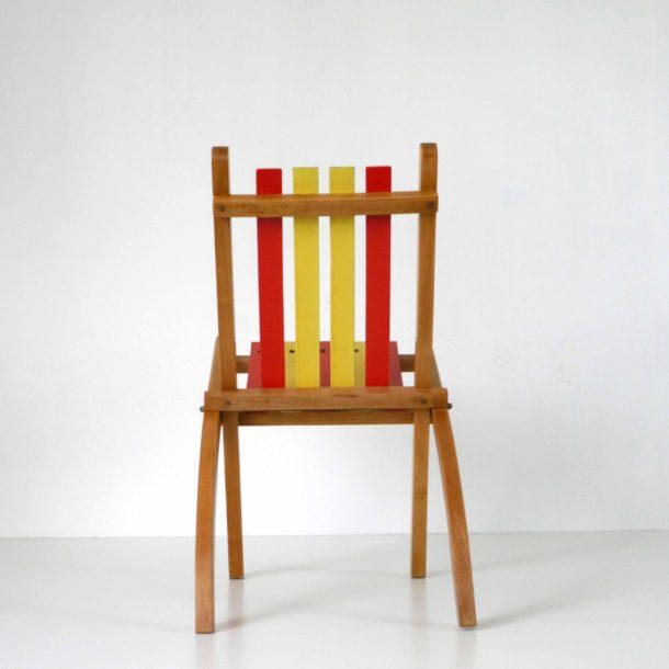 Chaise Pliante Enfant 1950 (5)